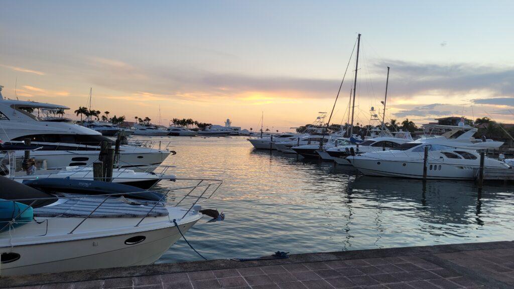 Yachts at Casa de Campo Marina
