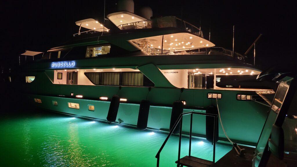 Large yacht Casa de Campo marina