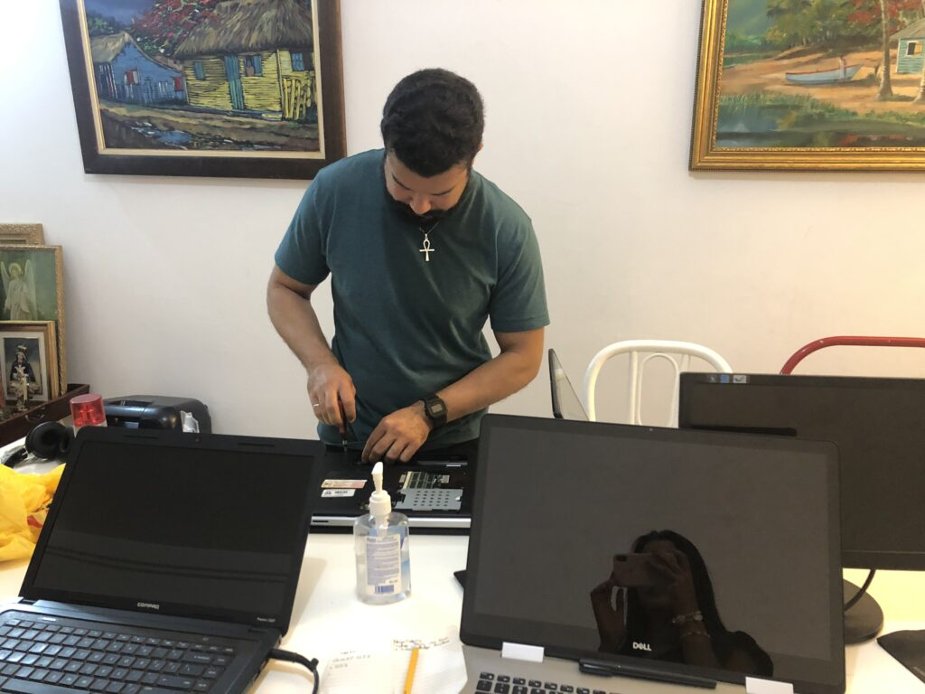 Joshua Marius Charity Laptop Repair